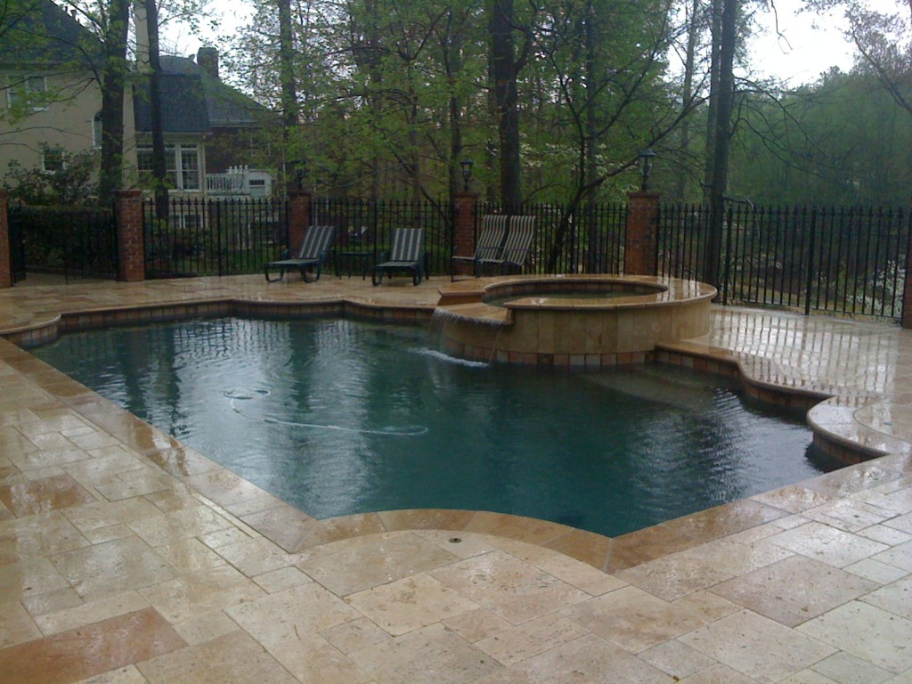 Home Watercolors Custom Pools